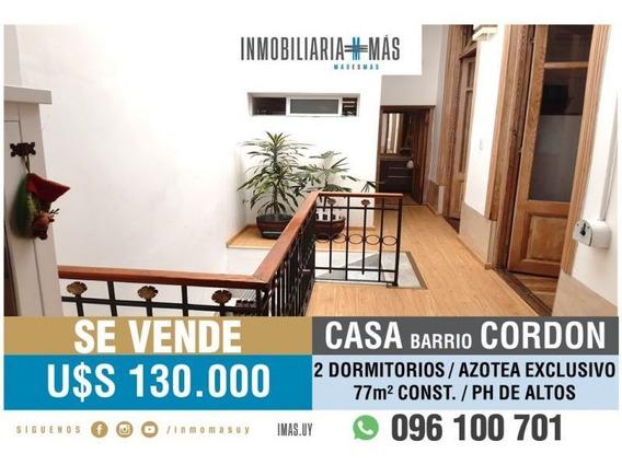 2 Dorm Casa Venta Cordón Montevideo Imas.uy L *