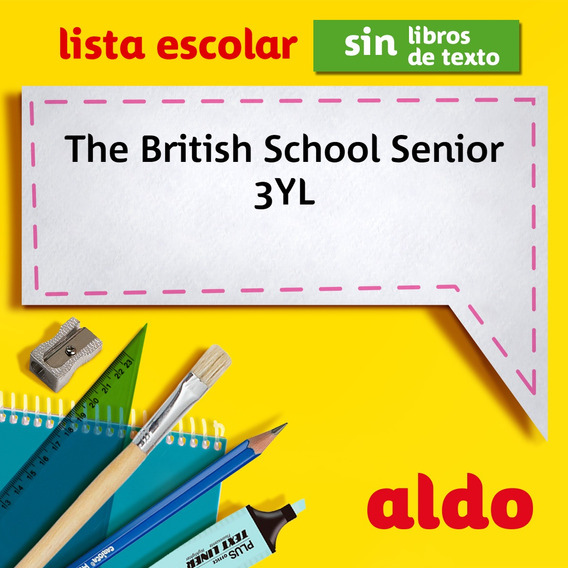 Lista Escolar The British School Senior 3yl