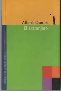 El Extranjero. Albert Camus. Impecable!! Envíos