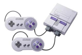 Consola Nintendo Snes Classic Mini Hdmi Usb 2 Controles