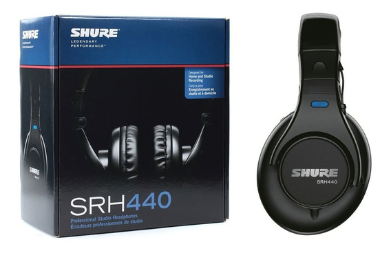 Auricular Profesional Estudio Shure Srh440