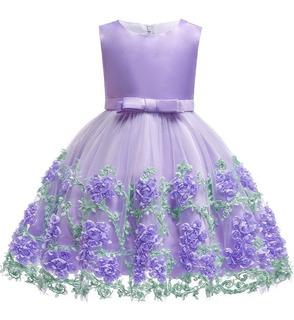Vestido Princesas Para Ninas Hermoso En Mercado Libre Uruguay