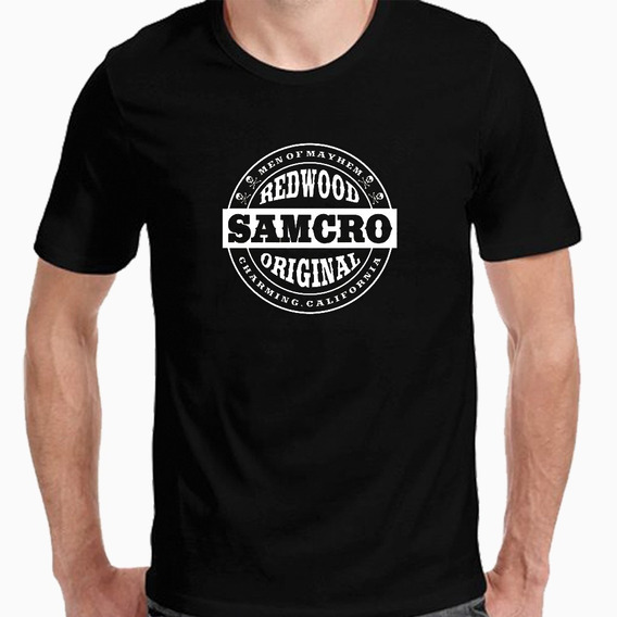 Remera Camiseta Samcro, Sons Of Anarchy, Estampada Serie