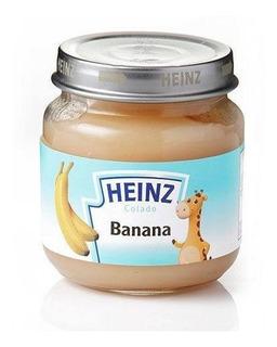 Papilla Heinz Banana 113g - Bebés Y Niños