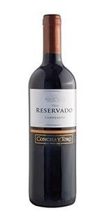Vino Concha Y Toro Reservado Carmenere 750 Ml