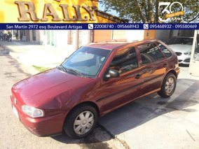 Volkswagen Gol Año 1999 Full U$s 4000 Y Financia Sola Firma