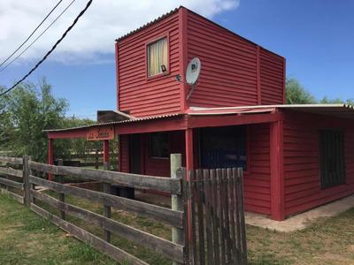Cabaña 2 Dormitorios A Cuatro Cuadras De La Playa