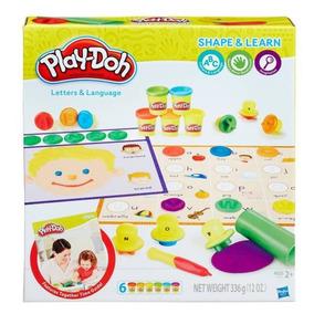 Play Doh Moldea Y Aprende Letras Y Lenguaje Hasbro - Hb