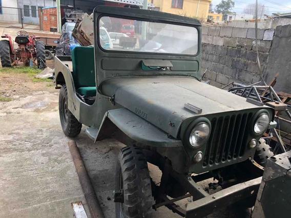 Jeep Willys Cj3 Overland