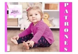 Patrones Leggins Para Bebe Niña Moldes Tamaño Real Costur2x1