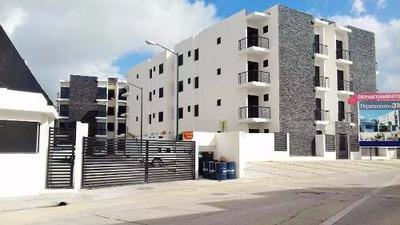 Departamento De Lujo En Venta, Col. Los Pinos Tampico, Tam. 3f