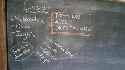 Matematica Fisica Ingles Calculo Algebra A Domicilio