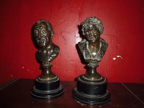 .2 Bustos Antiguos Flia Alfonsina Storni, Bronce Antiguos