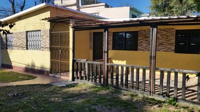 Excepcional Esquina Con Casa De 2 Dorm Y Otra Construcción