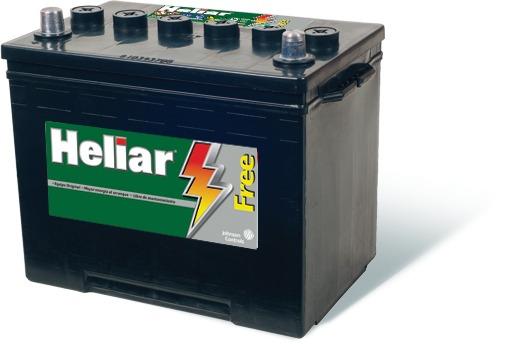 Batería Heliar 12v 140amp. Derecha