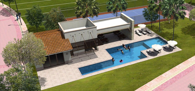 Terrenos Residenciales Con Casa Club, Alberca, Seguridad