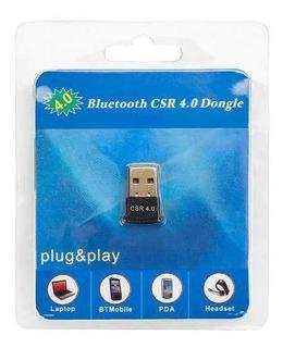 Adaptador Receptor Bluetooth 4.0 Pc Compu Notebook Y + ®