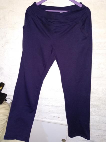 Pantalon Deportivo Violeta Xl