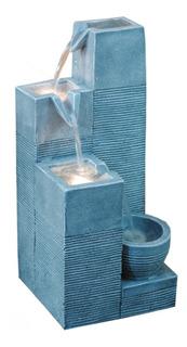 Fuente De Agua Rocas Verticales Con Luz; Precio Especial.