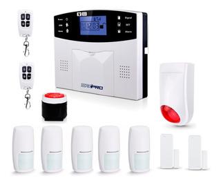 Alarma Casa Inalambrica Kit3 Gsm 3g Completa Comercio Oy