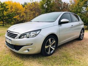 Peugeot 308 1.6 Thp Unico Dueño! Igual A Nuevo!