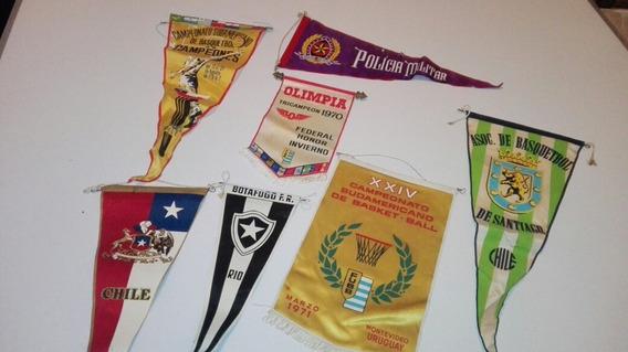 Banderines Antiguos Basketball Etc