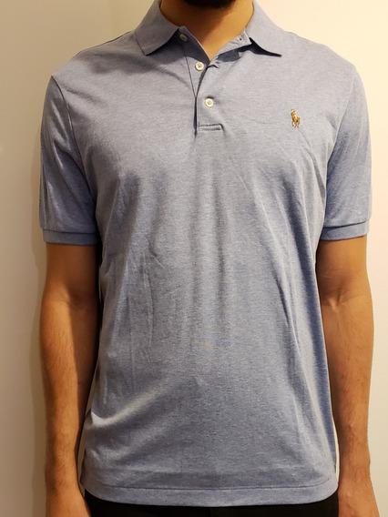Polo Ralph Lauren Chomba Azul Celeste Hombre Camisa Remera