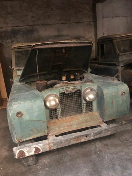Land Rover Diesel 2 Puertas.única Partida Del 66 En Uruguay