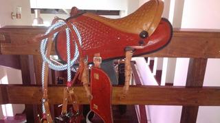 Montura Australiana Nueva Importada Para Caballo