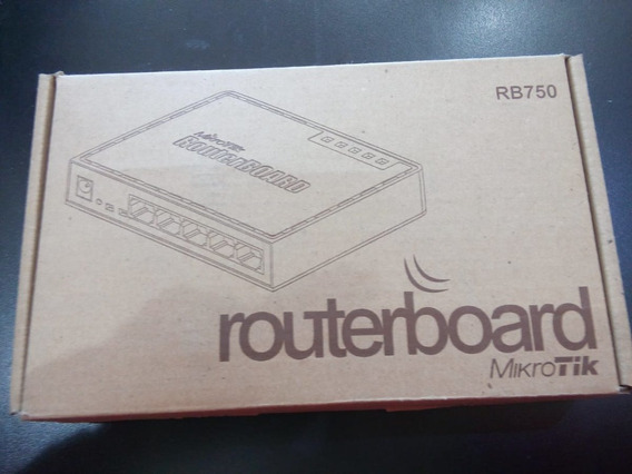 Mikrotik Routerboard Rb750 C/fuente