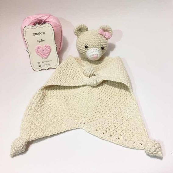Mantita De Apego En Crochet