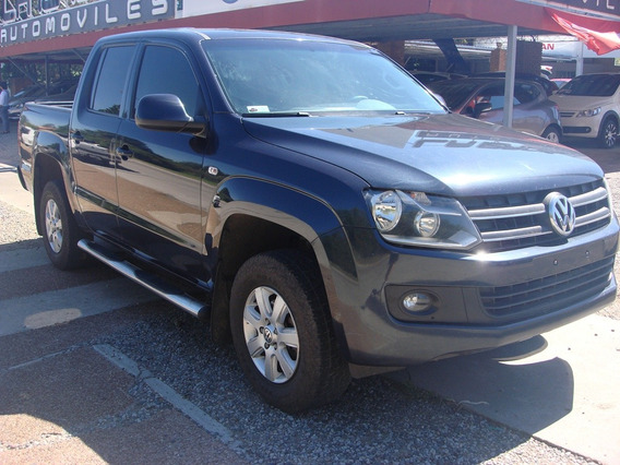 Vendo Vw Amarok Trendline D/cabina Año 2014