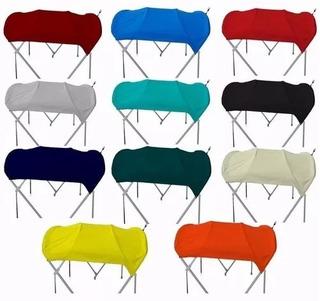 Toldo Toldillas Lanchas Vario Colores Completo Solo Instalar