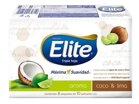 Pañuelos Elite Premium Aromas X6