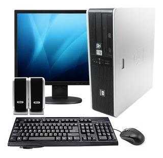 Computadora Core2 Monitor Led 19 Perifericos Oferta Completa