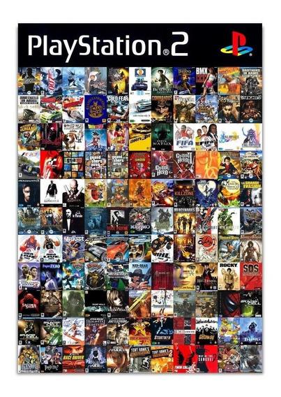 Juegos De Playstation 2 10 Juegos A Eleccion Para Play 2