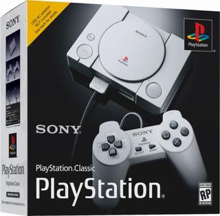 Sony Play Station Classic Mini 2 Mandos+ 20 Juegos