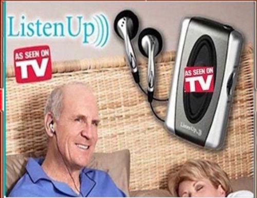 Como Se Ve En La Tv, Escuchar Arriba, Amplificador Personal