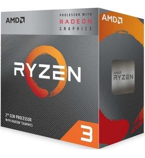 Amd Ryzen 3 3200g Gamer Video Radeon Vega 8 Am4 Tranza