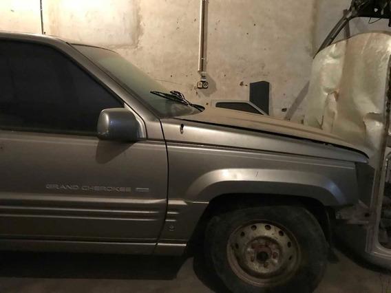 Carroceria De Jeep Gran Cherokee Limited Y Motor V8 Desarmad