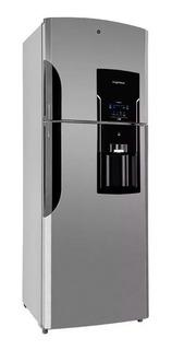 Refrigerador Ge 1540 Acero Inox 426l Freezer Frío Seco Loi