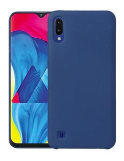 Protector Silicone Case Samsung A10 A20 A30 A50 A70 Colores