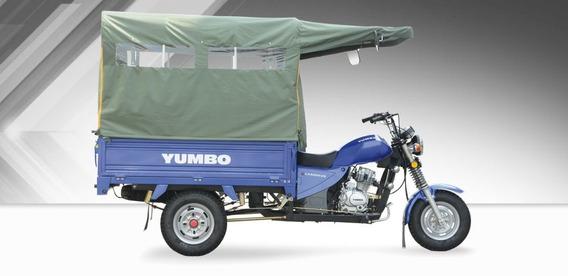 Moto Triciclo - Yumbo Cargo 125 Il - 500 Km De Uso