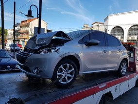 Peugeot 208 1.6 Dado De Baja Con Alta De Motor Chocado