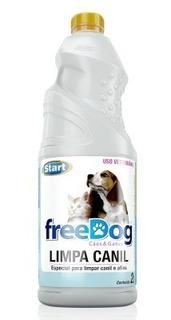 Limpiador Desinfectante Free Dog Caniles 4l (rinde 80l)