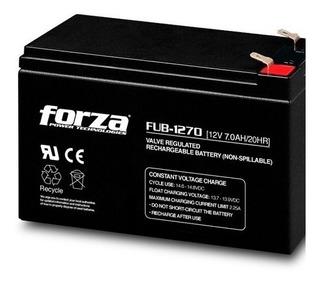 Bateria Ups Forza Fub-1270 12v 7.0a Febo