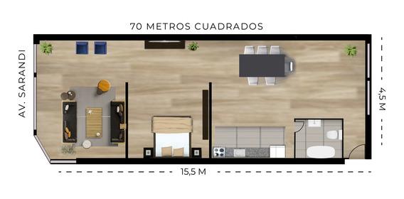 Apartamento 1 Y 2 Dormitorios