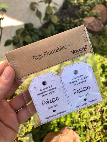Tags Plantables - Papel Plantable