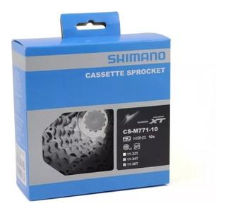 Cassete Bicicleta Shimano Xt Cs-m771 11-36 10vel Original