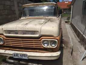 Ford F-100 Pick Up 1962